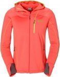 Jack Wolfskin Free ME II Jacket Orange, Damen Fleece Jacke, L