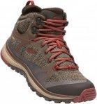 Keen Terradora Mid Waterproof Braun, Female Hiking-& Approach-Schuh, 39.5