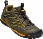 Keen Youth Chandler CNX Waterproof Gelb, EU 32-33 -Farbe Dark Olive -Citrus, 32-