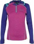 La Sportiva Womens Saturn Hoody Blau-Lila/Violett, L, Damen Oberteil