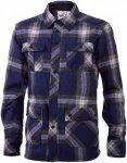 Mons Royale Merino Mountain Shirt (Modell Winter 2016) Blau, Herren Merino Langa