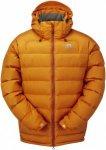 Mountain Equipment Lightline Jacket Orange, Herren Daunen Daunenjacke, XL Herren