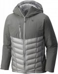 Mountain Hardwear Supercharger Insulated Jacket Grau, Herren Daunen Jacke, S