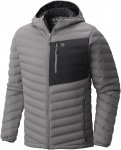 Mountain Hardwear Stretchdown Hooded Jacket Grau, Male Daunen Daunenjacke, S