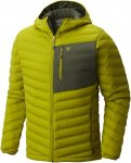 Mountain Hardwear Stretchdown Hooded Jacket Grün, Male Daunen Daunenjacke, L