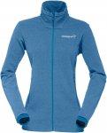 Norrona W Falketind Warm1 Jacket Blau | Damen Freizeitjacke