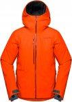 Norrona Mens Lofoten Gore-Tex Insulated Jacket, Scarlet Ibis,