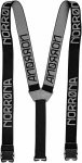 Norrona Svalbard Suspenders Schwarz, Hoseträger, One Size