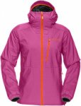 Norrona Womens LOFOTEN ALPHA JACKET, Crash Pink,