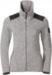 Odlo Midlayer Full Zip Lucma X Grau, Damen Fleece Jacke, S