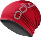 Odlo HAT REVERSIBLE, Chinese Red -Odlo Steel Grey, One Size