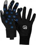 Ortovox Fleece Merino Smart Glove Schwarz, Merino Fingerhandschuh, L
