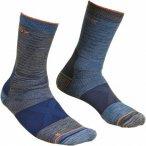 Ortovox Merino Socks Alpinist Mid Blau-Grau, Herren Merino Socken, Größe 42-44