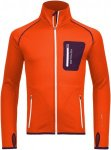 Ortovox Merino Fleece Jacket (Modell Winter 2016) Orange, Herren Merino Fleece J