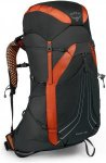 Osprey Exos 48 Schwarz, Male Alpin-& Trekkingrucksack, L