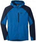 Outdoor Research Ferrosi Hooded Jacket Blau, Male Freizeitjacke, XL