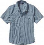 Patagonia Bandito Shirt Blau, Herren Kurzarm-Hemd, S