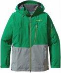 Patagonia Powslayer Jacket Grün-Grau, Herren Gore-Tex® Jacke, XS