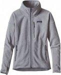 Patagonia Performance Better Sweater Jacket Grau, Female Polartec® Fleecejacke,