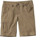 Patagonia Tribune Shorts Beige, Damen Shorts, 4