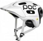 POC Trabec Race Mips Weiß-Schwarz, Fahrradhelm, XS-S