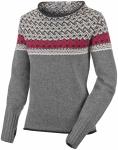 Salewa Fanes Wool Sweater Grau, Damen Freizeitpullover, 38