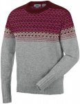 Salewa Mens FANES WOOL SWEATER, Grey Melange,