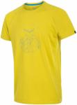 Salewa Pedroc Dry Shortsleeve Tee Gelb, Herren Kurzarm-Shirt, XXL