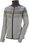Salewa Fanes Wool Full-Zip Sweater Grau, Damen Freizeitjacke, 40