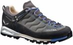 Salewa Mountain Trainer Leather Grau, Damen Hiking-& Approach-Schuh, UK 7 -EU 40