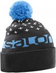 Salomon FREE BEANIE, Black -Hawaiian -White,
