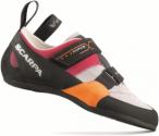 Scarpa Force X Weiß-Orange, Damen Kletterschuh, EU 35 -UK 2.5 -US 4.5