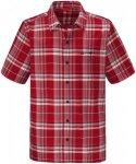 Schöffel Bischofshofen Shirt Rot, Herren Kurzarm-Shirt, Größe L -Farbe High R