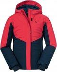 Schöffel Girls Ski Jacket Brandnertal Colorblock / Blau / Rot | Größe 164 | M