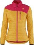 Scott Insuloft Light Jacket Gelb-Pink, Damen Daunen Jacke, XS