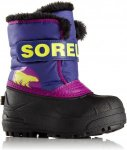 Sorel KIDS SNOW COMMANDER, Grape Juice -Bright Plum,