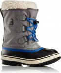 Sorel KIDS YOOT PAC NYLON, City Grey,