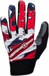 Sweet Protection Kung FU Gloves Weiß-Rot-Grau, Damen Fingerhandschuh, S Damen F