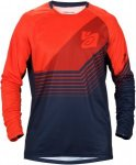 Sweet Protection Chuckanut Long-Sleeve Jersey Blau-Orange, Herren Langarm-Shirt,