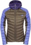 The North Face Womens TONNERRO HOODIE, New Taupe Green -Stary Purple -Garnet Pur