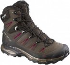 Salomon Womens X ULTRA WINTER CS WP, Absolute Brown X -Brown Black -Bordeaux,