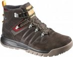 Salomon Mens UTILITY TS CSWP, Trophy Brown Leather -Absolute Brown-X -Sunny-X,