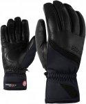 Ziener Kalifornia GWS PR Schwarz, Damen PrimaLoft® Fingerhandschuh, 6.0