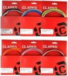 Clarks - Universal Bremskabelset Vorder- & Hinterradbremse - One Size