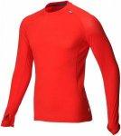 Inov-8 AT/C Funktionsshirt (Baselayer, langarm) - L Dark Red