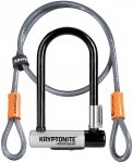 Kryptonite Mini 7 Bügelschloss und Kryptoflex Kabel - One Size