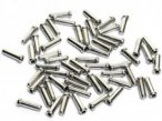 Shimano - Box Of 100 Innenzug-Endkappen - One Size Silber