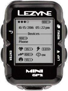 Lezyne Mini GPS Fahrradcomputer schwarz Computer drahtlos, Gr. keine Angabe