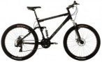 KS Cycling Fully Mountainbike, 27,5 Zoll, schwarz, 21 Gang-Kettenschaltung, »In