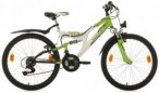 KS Cycling Jugendfahrrad »Zodiac«, 18 Gang Shimano Tourney Schaltwerk, Kettens